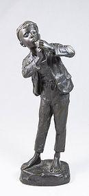19th C. Karl Hackstock Bronze Sculpture, Gesetzl Geschützt