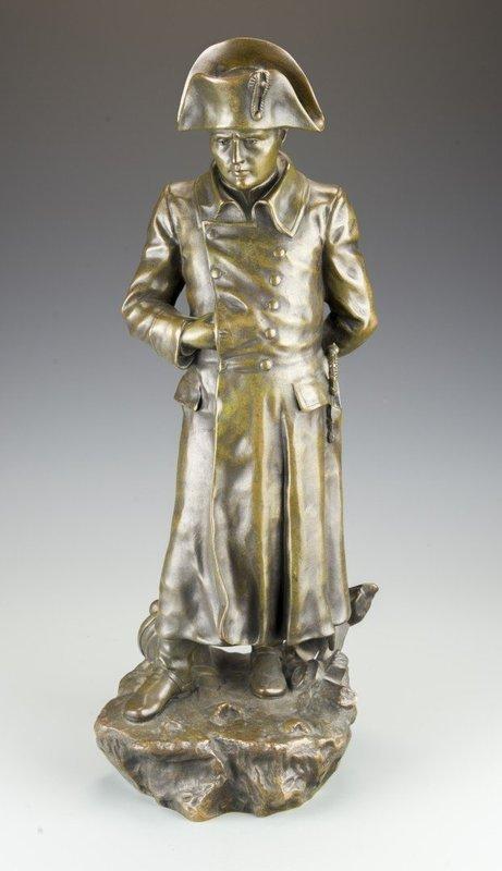 Superb French Bronze Sculpture; Napoleon.
