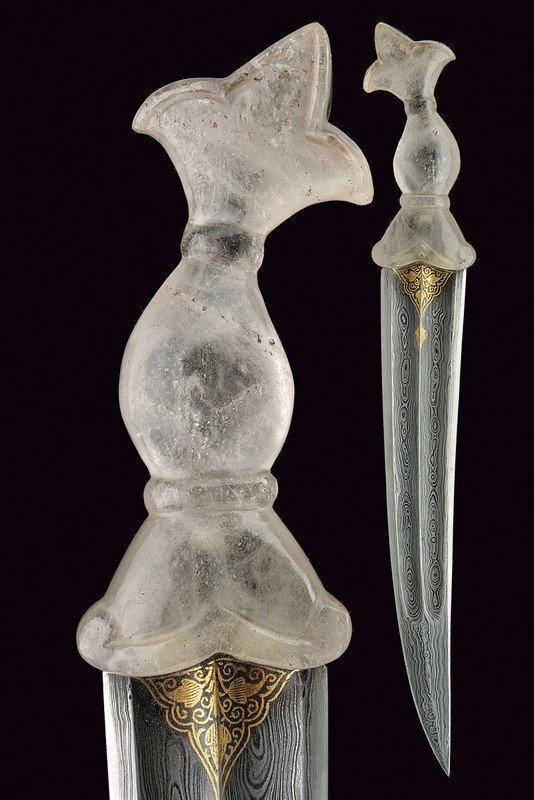 Impressive Early 19th C. Indo/Persian Jambyia Dagger