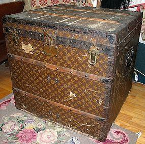 Vintage Louis Vuitton cube trunk