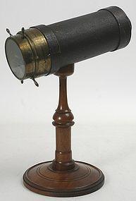 Antique Charles G. Bush parlor kaleidoscope, c.1873