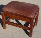 Gustav Stickley Arts and Crafts foot stool