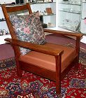 Gustav Stickley Arts and crafts Morris arm chair