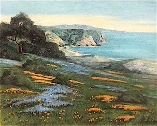 Alice Haigh Dixon California landscape painting