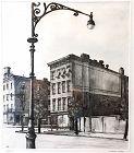Armin Landeck etching - York Avenue, Tenements