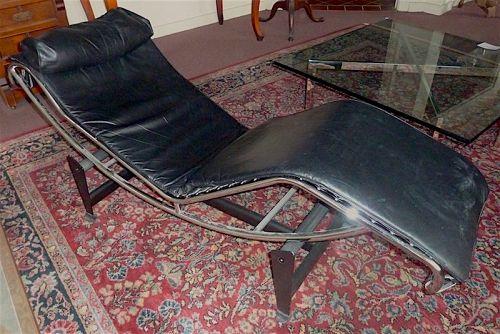 Le Corbusier style LC-4 chaise longue