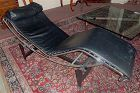 Le Corbusier style LC-4 chaise longue