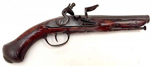 Revolutionary War era Light Dragoon flintlock pistol
