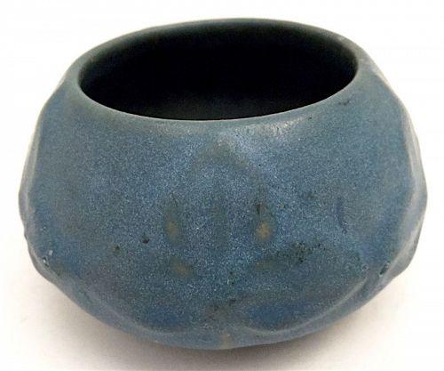 Van Briggle American art pottery blue cabinet vase