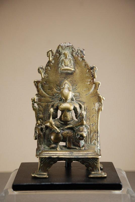 Small Green Tara Altar, India, 16th C.
