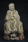 Statue of Zhen Wu, God of the North, China, Ming Dyn.