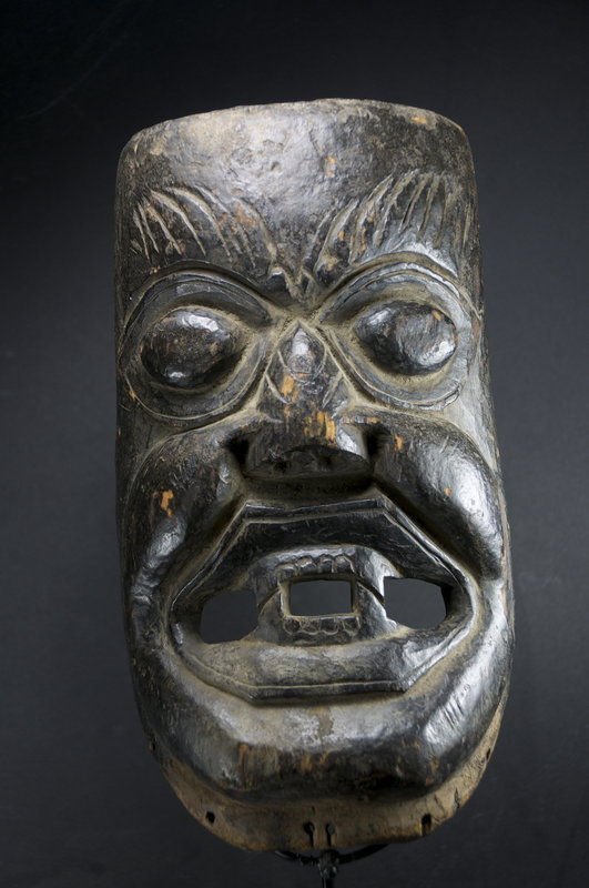 Ancient Mask of Defender of the Faith, Himalayan Region