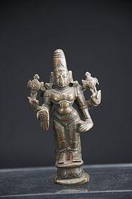 Statue of Vishnu, India, 19th C.