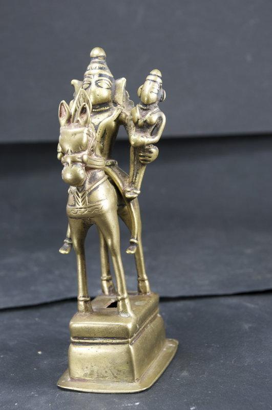 Statue of God Khandoba, India, 18th C.