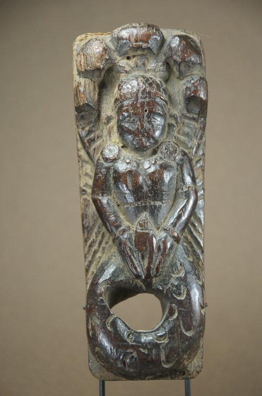 Rare Relief of Vishnu, Nepal, Ca. 17thC.