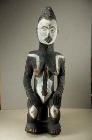 Important Feminine Figure, Idoma Peoples