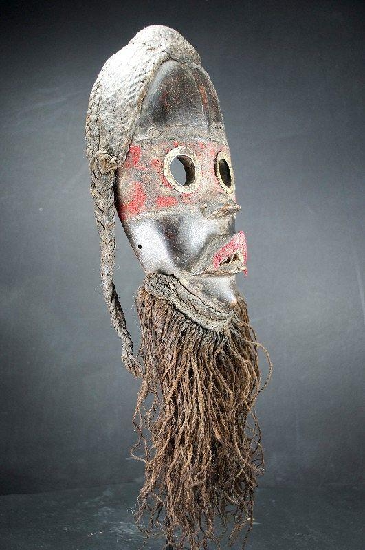 "Important ""Zakpai"" Mask, Dan Peoples"