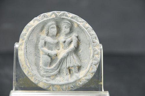 Unusual Cosmetic Plate, Gandhara