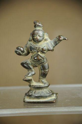 Statue of Krishna Kaliyadamana, India, Early 19th C.