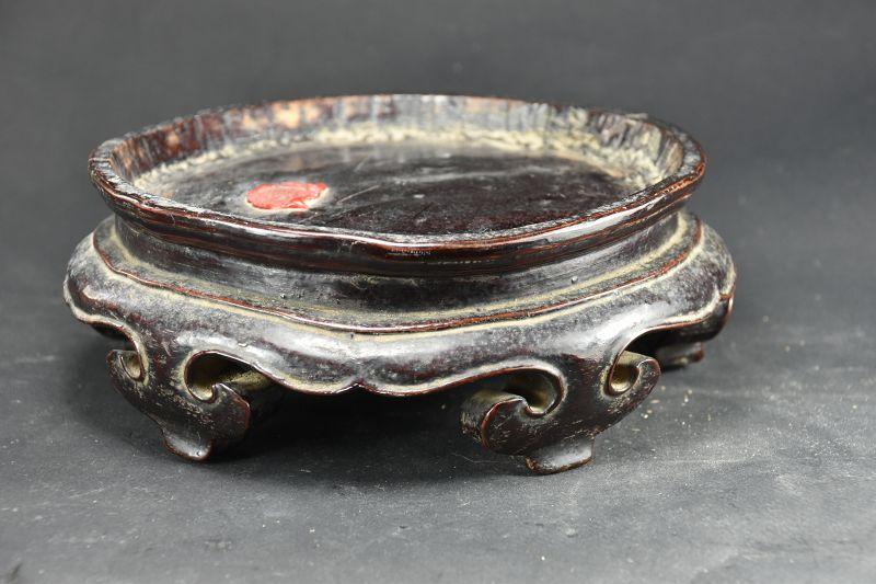 Circular Wood Stand # 1, China, Qing Dynasty