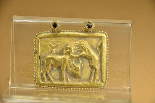 Rare 14K Gold Pendant # 2, Gandhara, Ca. 3rd C.