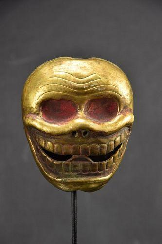 Gilt Bronze Citipati Head, Tibet, 19th Century