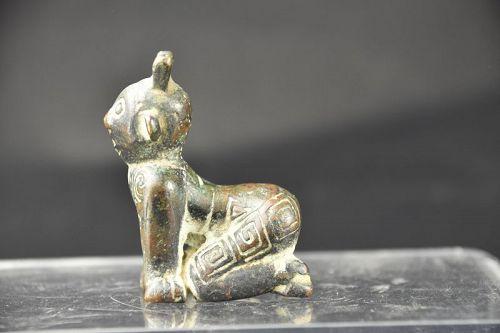 Anthropomorphic Figurine, China, Warring States Period