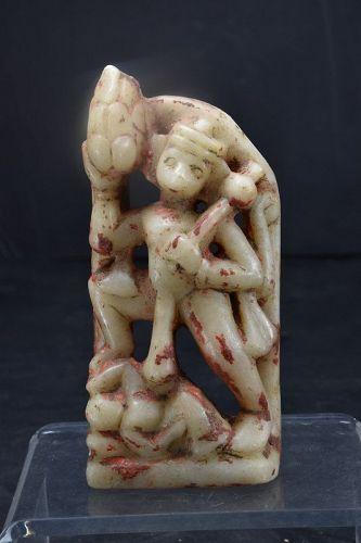 Marble Altar to Hanuman, India, 18th C.