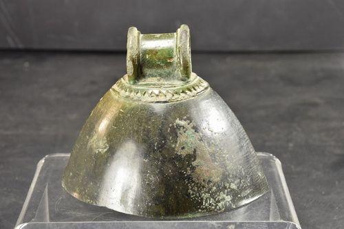 Bronze Bell, Khmer Period, Ca. 13th C.