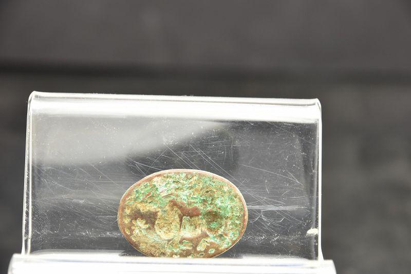 Bronze Seal, Indus Civilisation, Ca. 3000 BC
