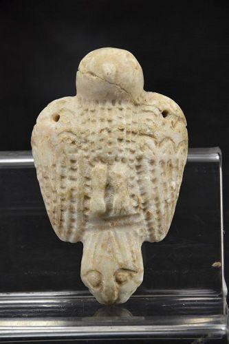 Alabaster Amulet, Mesopotamia, Ca. 2000 BC