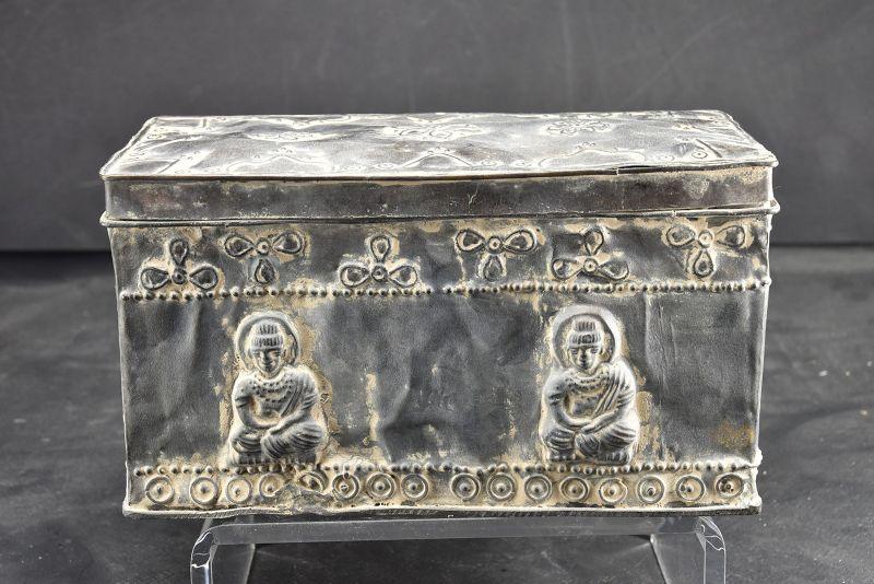 Important Buddhist Box, Gandhara, Ca. 3rd C.