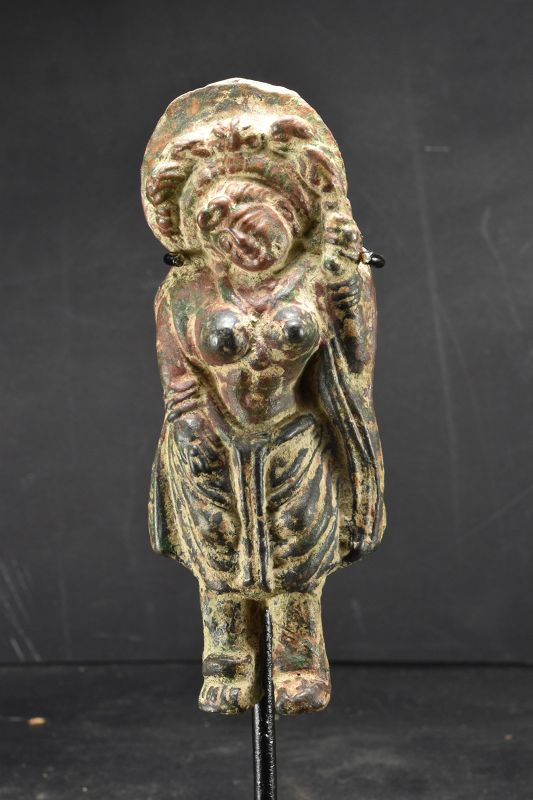 Rare Statue of a Yakshi, India, Ca. 2nd Century BC