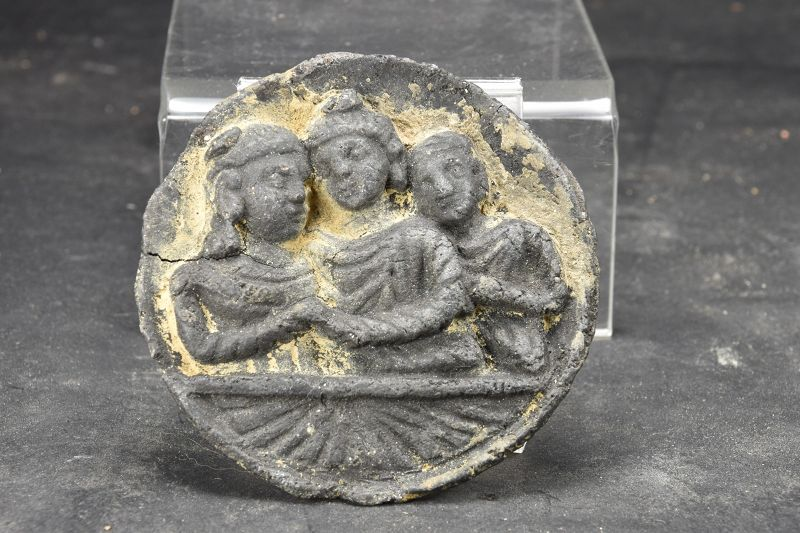 Small Cosmetic Palette, Gandhara, Ca. 3rd C.
