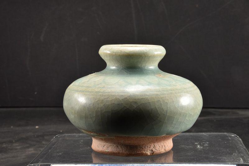 Celadon Ceramic Jar, Sawankhalok Kilns, Ca. 16th C.