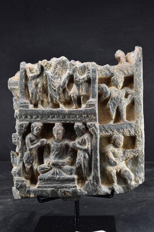 Relief Fragment, Gandhara, Ca. 3rd Century