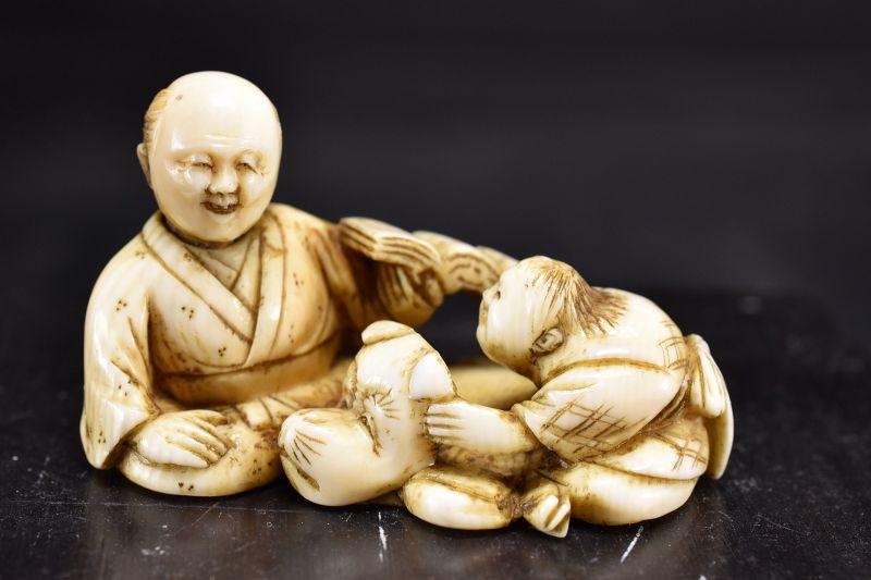 Ivory Netsuke, Japan, 19th Century