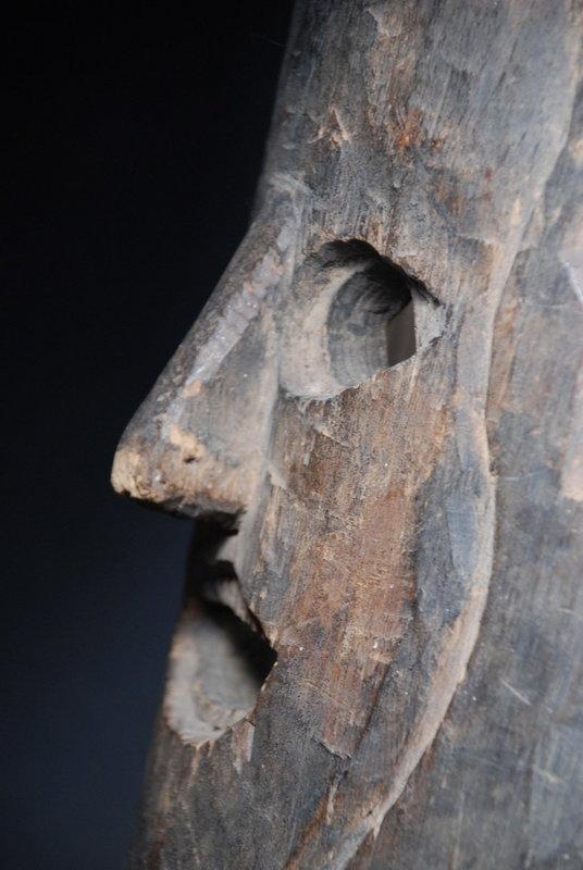 Rare & Unusual Himalayan Mask, Early 20th C.