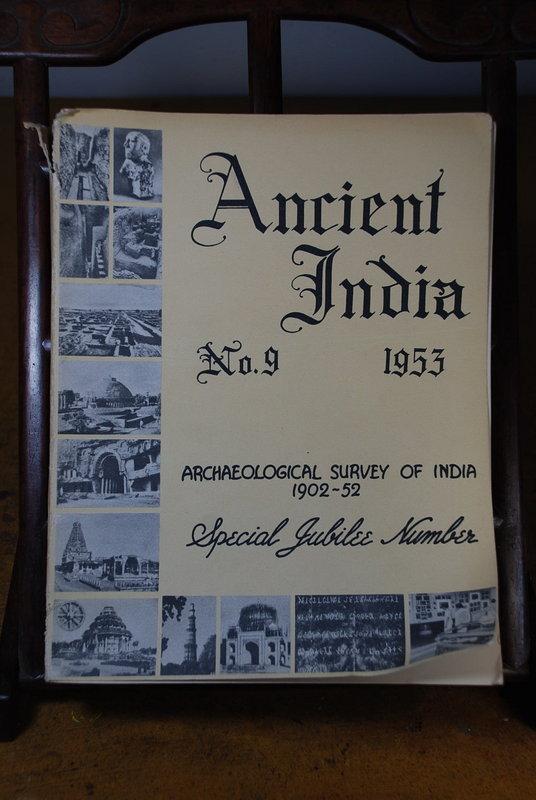 Ancient India Bulletin, No 9, Year 1953