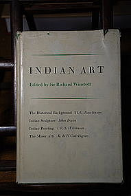"""""""Indian Art"""", Edited by Sir Richard Winstedt"""