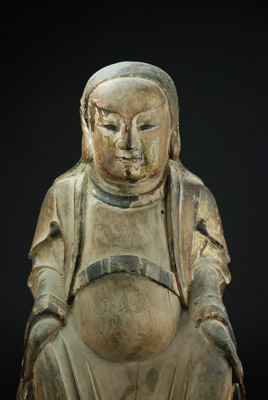 Statue of Zhen Wu, the God of the North, China, 18th C.