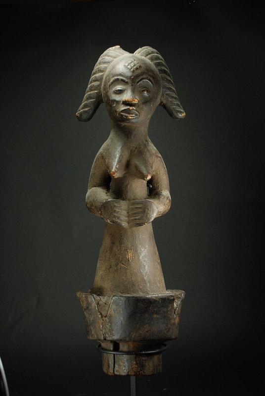 Reliquary Figure, Gabon, Punu Peoples