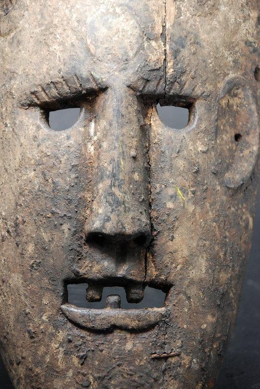 Very Old Himalayan Mask