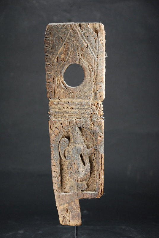 Small Wood Relief 2, Nepal, 17th C.