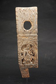 Small Wood Relief 3, Nepal, 17th C.
