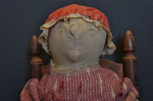 "18"" heavy pencil face cloth doll, You have got to be kidding!"