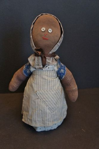 """Sweetness and life is this small bottle doll doorstop 12"""""""