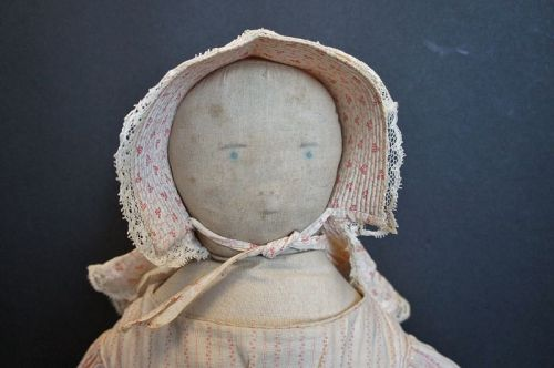 Can you guess why this doll is not a typical southern belle?