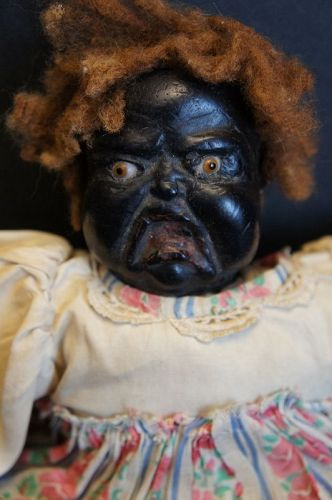 One angry baby, I am glad I can't hear the crying C.1910 wax head