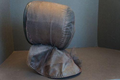 A really nice Shaker sister's bonnet 1860
